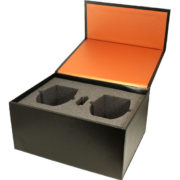 Flip top Rigid Box with Foam Insert-emans-packaging-0