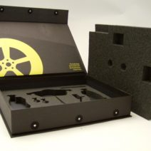 Flip top Rigid Box with Foam Insert