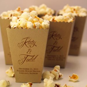 Kraft pop corn boxes emans packaging