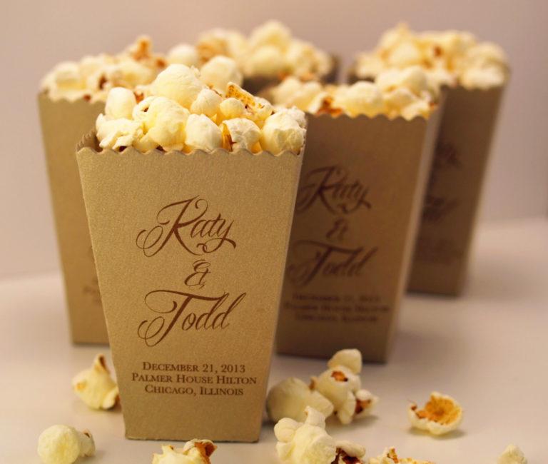 Kraft pop corn boxes emans packaging