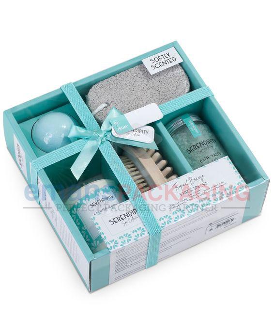 Custom Bath Set Boxes Wholesale