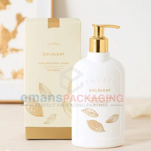 Luxury white Lotion Boxes