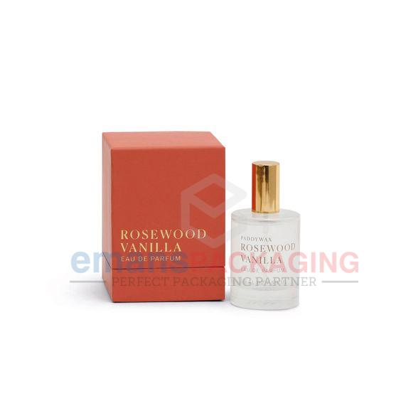 Red perfume box