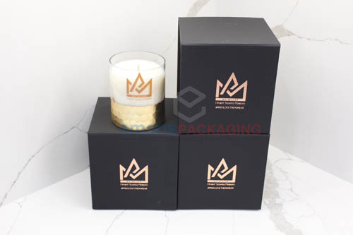 Rigid Candle Packaging Boxes