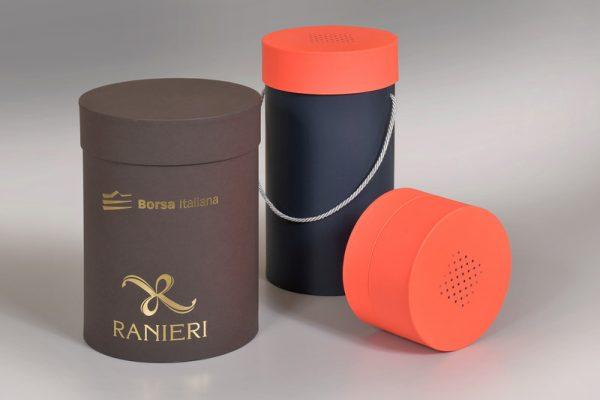 Custom Round Rigid Boxes