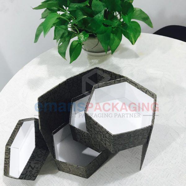 Hexagonal Rigid Packaging Boxes