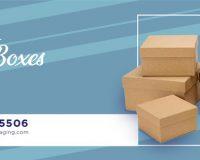 kraft cardboard packaging boxes