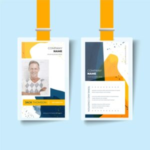 Custom Employee Id Cards Printing