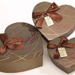 Custom Shape Heart Rigid Boxes