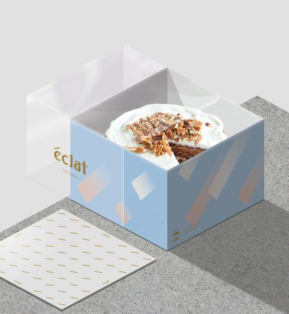Cup Cake Packaging Boxes