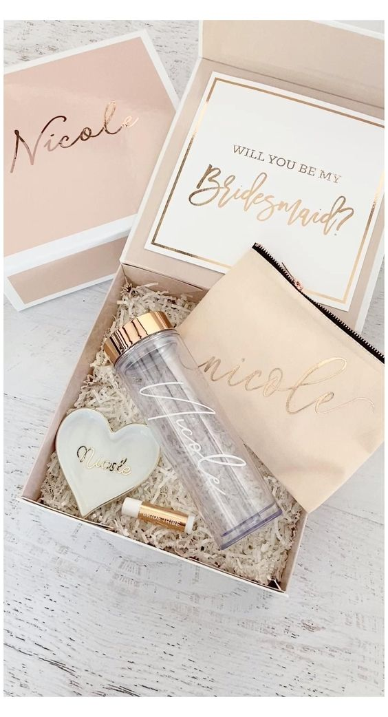 Bridesmaids Gift Packaging Boxes