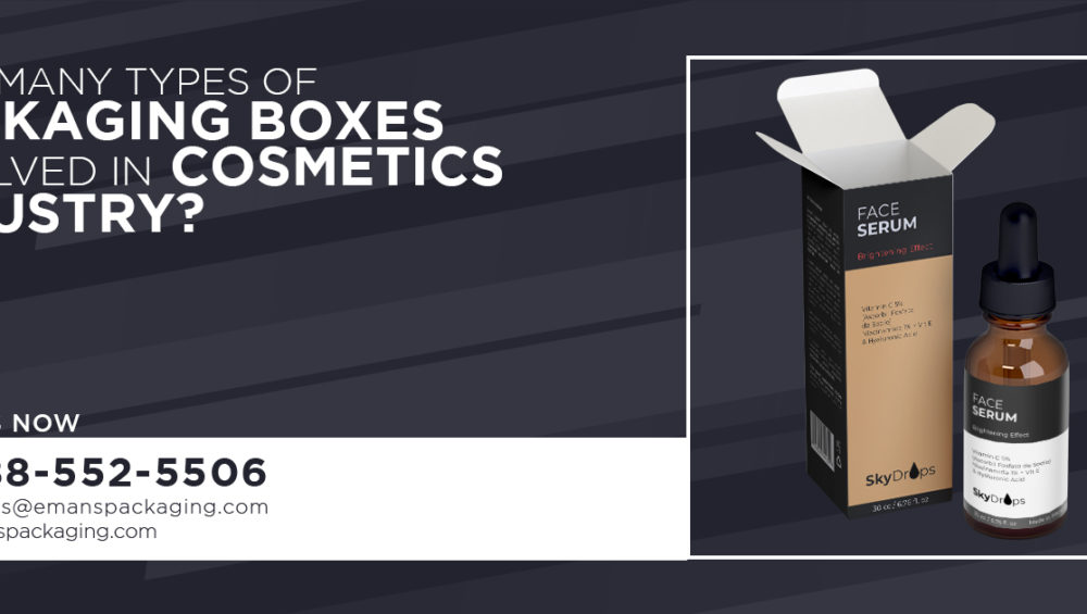 Types of Boxes for cosmetic industry
