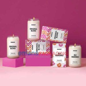 Custom Cardboard Candle Boxes